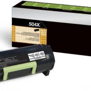 Lexmark Toner 504X Negro Alto Rendimiento 50F4X00