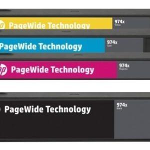 HP Pack juego de tintas 974XL L0S08AL L0S02AL L0R99AL L0S05AL