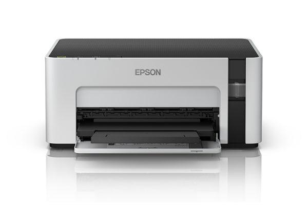 EPSON Impresora Inalámbrica EcoTank Blanco y Negro M1120 C11CG96303