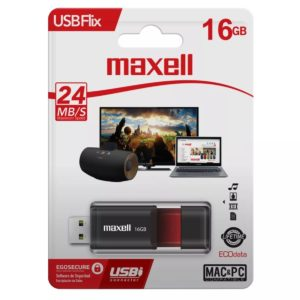 Maxell Pendrive 16 GB Flix