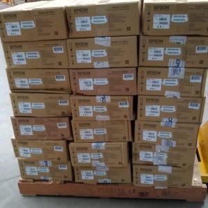 Epson Proyector PowerLite X05 Cajas Dañadas V11H839021