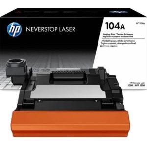 HP Tambor de imagen 104a Negro W1104A