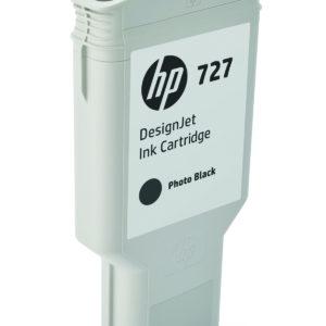 HP Tinta 727 de 300 ml Negro Fotográfico F9J79A