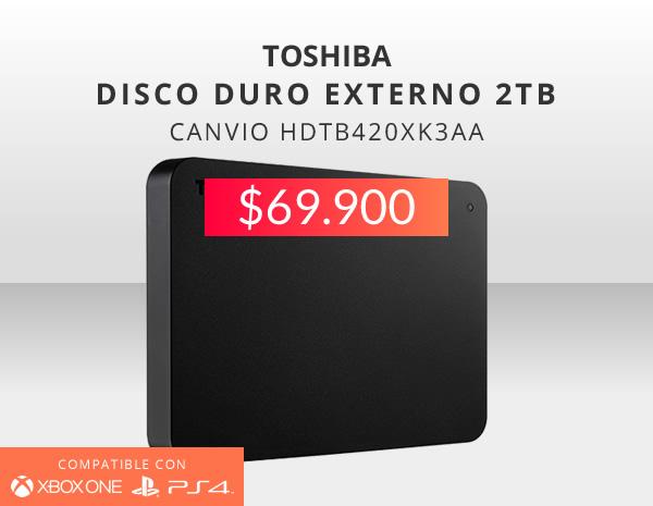 Disco duro Toshiba 2 tb oferta