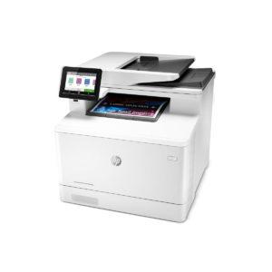 HP Impresora Multifuncional Color LaserJet Pro M479fdw W1A80A