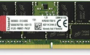 Kingston Memoria Ram DDR4 16GB SoDimm 2400MHz KVR24S17D8/16