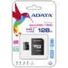 Adata Memoria Micro SD 128GB Clase 10 AUSDX128GUICL10A1-RA1