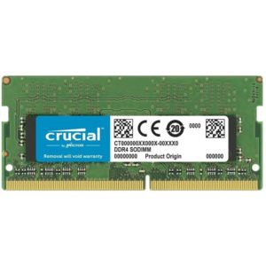 Crucial Memoria Ram DDR4 8GB 3200 MT/s SODIMM CT8G4SFRA32A