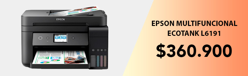 Oferta Impresora Multifuncional Epson L6191