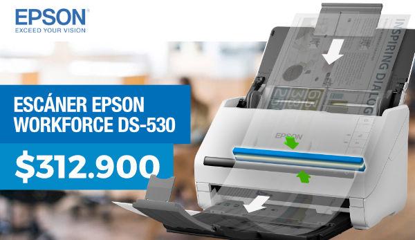 Escáner epsn werkforce ds-530