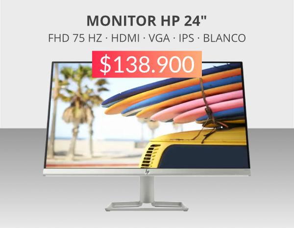 """monitor hp 24"""" en oferta"""