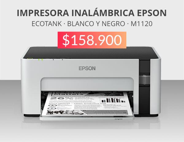 oferta impresora byn epson m1120