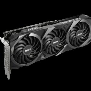 MSI Tarjeta Grafica GeForce RTX 3060 Ventus 3X 12G OC