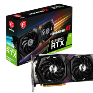 MSI Tarjeta Grafica GeForce RTX 3060 Gaming X 12GB