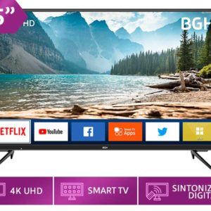 BGH Televisor 55 Pulgadas Smart TV UHD 4K B5520UK6IC